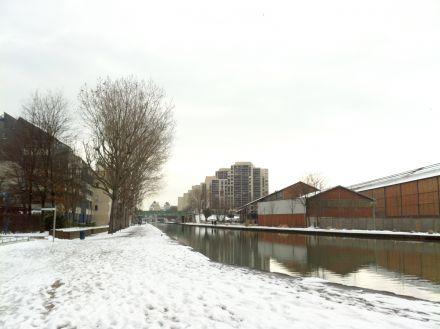 Canal de l'Ourcq © SAGE CEVM