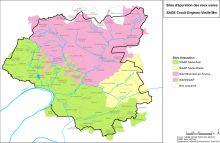 Carte des sites d'épuration des eaux usées