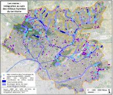 Carte du réseau de mares