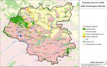 Carte de l'occupation des sols en 2008
