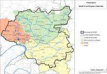 Carte de présentation administrative du territoire