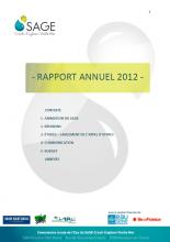 Rapport d'activité de la CLE 2012