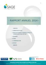 Rapport d'activité du SAGE CEVM 2014
