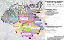 Carte des perspectives d'évolution planifiée dans les documents d'urbanisme locaux