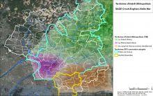 Carte des territoires d'intérêt métropolitain